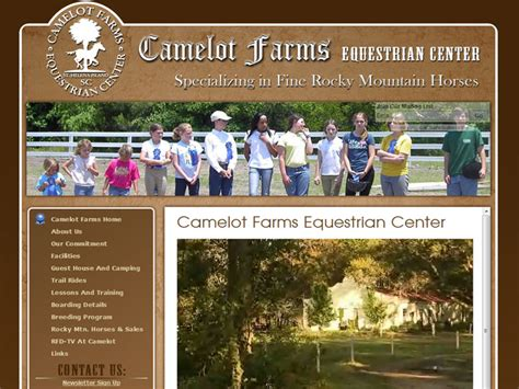 camelot family farm marketing concepts 187 archive camelot farms stables marketing concepts