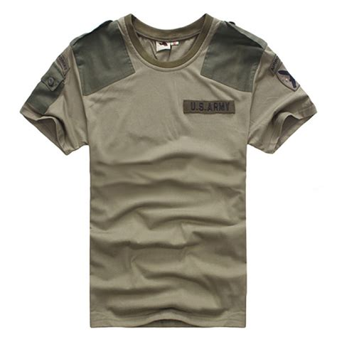 Army T Shirt Impor buy mens outdoor cotton solid army sleeve t shirts bazaargadgets