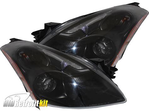 Hid Projektor 2010 2012 nissan altima sedan hid bi xenon projector rgb headlights hid retrofit kit