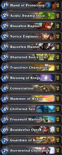 basic rogue deck hearthstone best paladin basic deck free deck paladin
