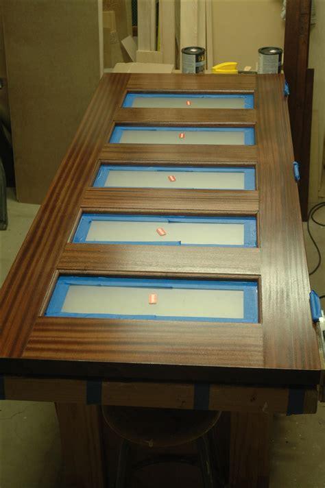 custom  sapele exterior door unit  wooden   nice