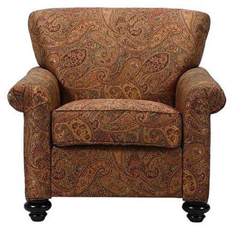 capri eight way hand tied brown paisley arm chair free
