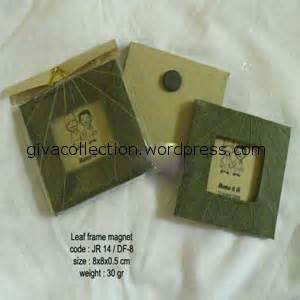Souvenir Sendok Boks souvenir daur ulang daun giva craft