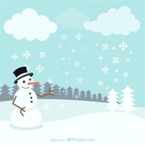 paysage d hiver avec bonhomme de neige t 233 l 233 charger des