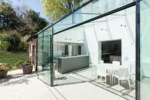 Plush Home Design Uk glass house winchester residence e architect