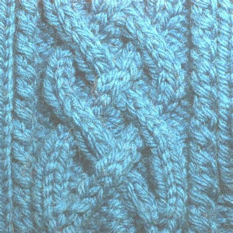 knit in cable knitting