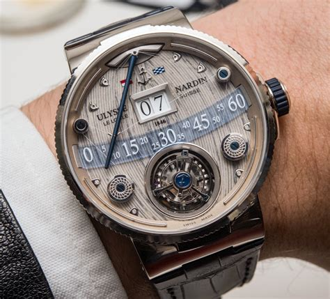ulysse nardin grand deck marine tourbillon on