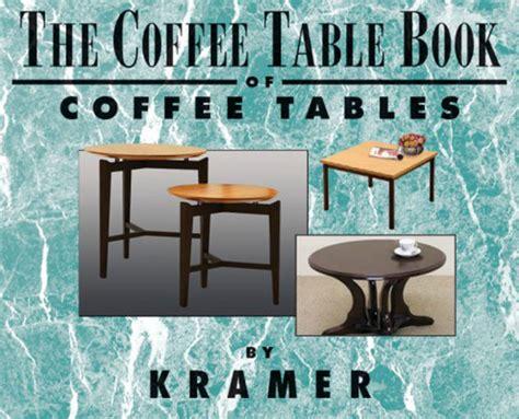 kramer coffee table book author cosmo kramer