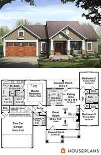 one story bungalow house plans 25 best ideas about small house plans on small house floor plans small home plans