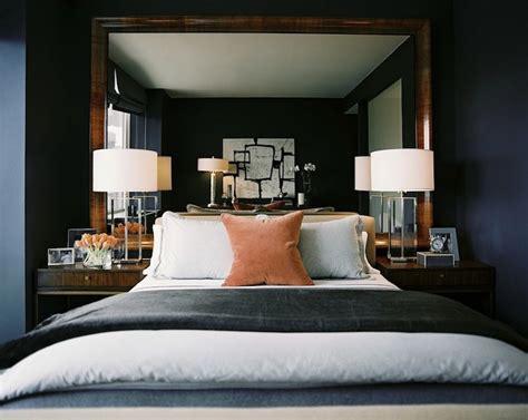 mirror as headboard mirror as headboard transitional bedroom ron marvin