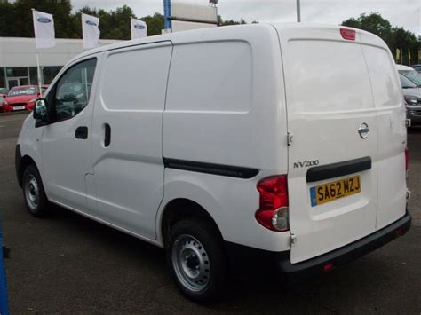 nissan nv200 white used white nissan nv200 for sale dumfries and galloway