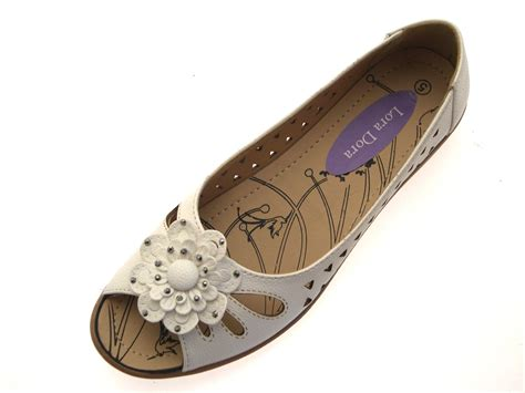 ladies comfort sandals uk womens faux leather comfort cut out flat shoes flower