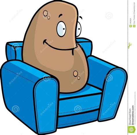couch potato cartoon couch potato stock images image 1952924