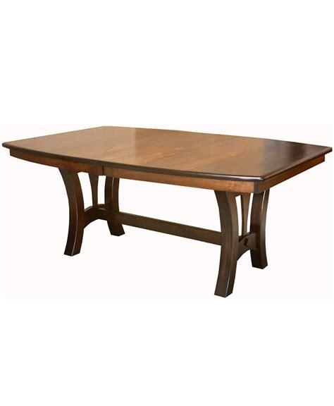 grand island trestle table amish direct furniture