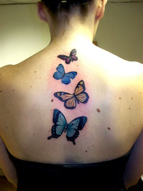 butterfly tattoo in back tattoos back tattoos upper back butterfly tattoos