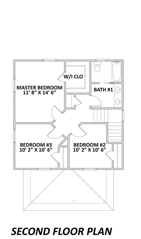 four square floor plan the sears four square gmf architects house plans gmf