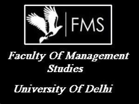 Fms Delhi Part Time Mba Eligibility fms delhi renovation mba program part