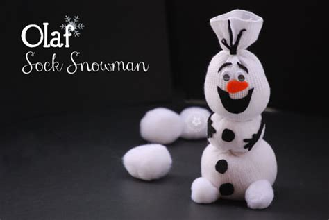 frozen sock snowman christain recipes crafts and more olaf sock snowman