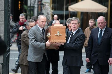 pogues frontman phil chevron funeral takes place in dublin