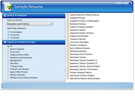 resume maker professional ultimate sle resume selection