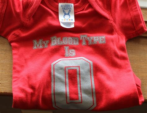 my is blood my blood type is o and gray ohio state baby onesie newborn 6 months and 12
