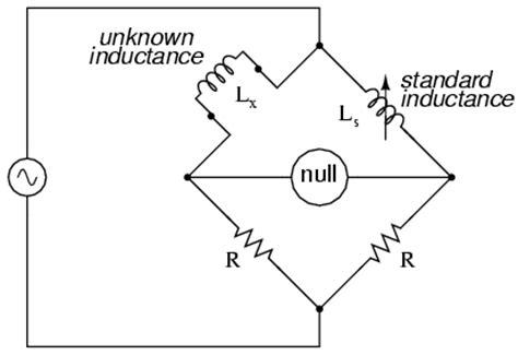 inductance bridge ac bridge circuits dc measurement circuits ac bridge circuits