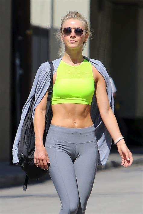 julianne hough in at julianne hough leaves a gym in beverly hills 06 16 2016