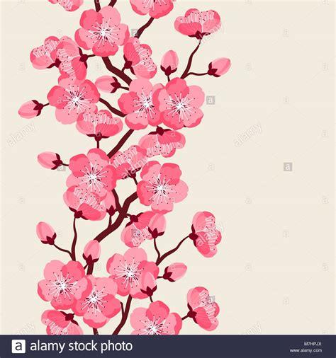 sfondi fiori stilizzati il giapponese seamless pattern con fiori stilizzati