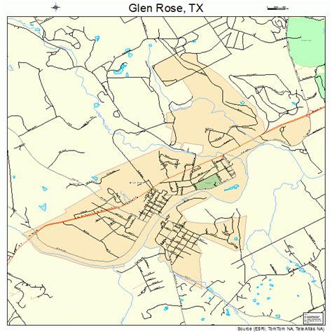 where is glen texas on a map glen texas map 4829876