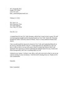 Sle Referral Cover Letter by Cover Letter Exle Resume Cover Letter Referral From Friend