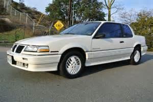 Pontiac Grand Am 1989 1989 Pontiac Grand Am Se Coupe 2d In El Cajon Ca 1 Owner