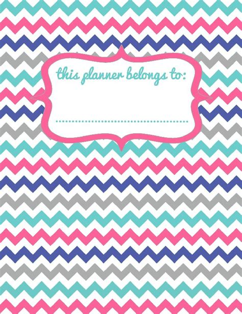 Printable Planner Cover | 17 best images about printable binder covers on pinterest