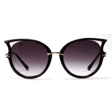 Club Tin Glasses retro cat eye sunglasses golden leg shades sunglass zen