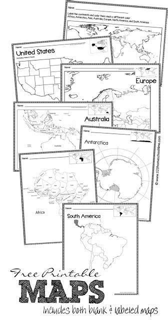 printable united states map for kindergarten in the classroom preschool and geography on pinterest