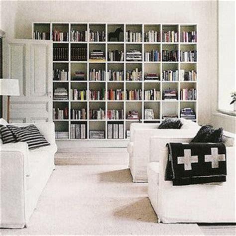 interior floor to ceiling bookshelves