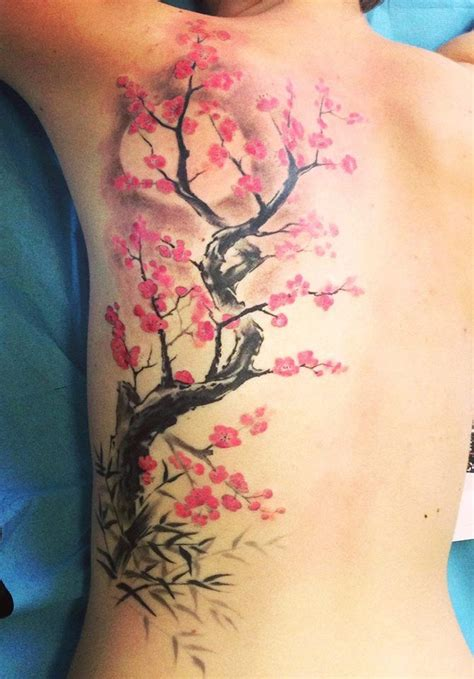 japanese cherry blossom tree tattoo designs 25 best ideas about on oni