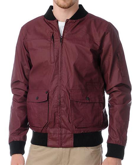 Parka Canvas Maroon Quality kr3w anson burgundy waxed canvas jacket zumiez
