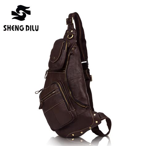 Swiss Army 1128 Original Leather designer genuine leather swiss army knife shoulder bags triangle s messenger bags shall drop