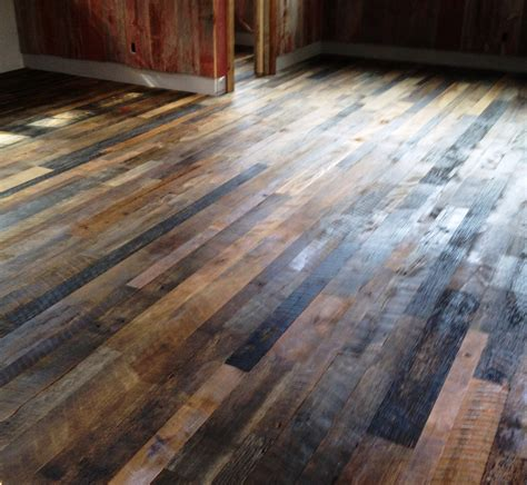 barn floor recycled wood flooring