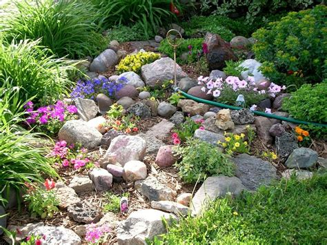 Small Rock Garden Ideas Rock Garden Home Landscaping Rock Garden