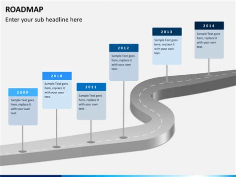 Roadmap Powerpoint Template Sketchbubble Free It Roadmap Template