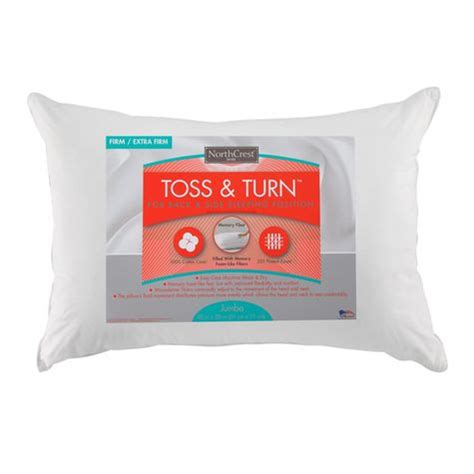 Best Pillow For Tossing And Turning by Northcrest Toss Turn Firm Firm Pillow Shopko