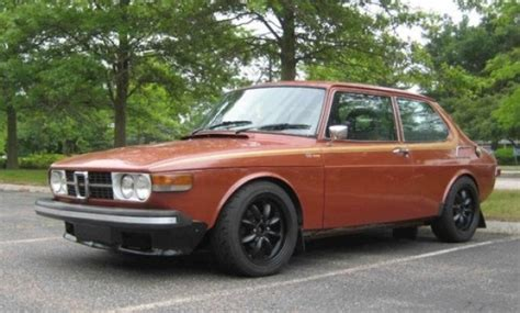 warmed 1974 saab 99 bring a trailer