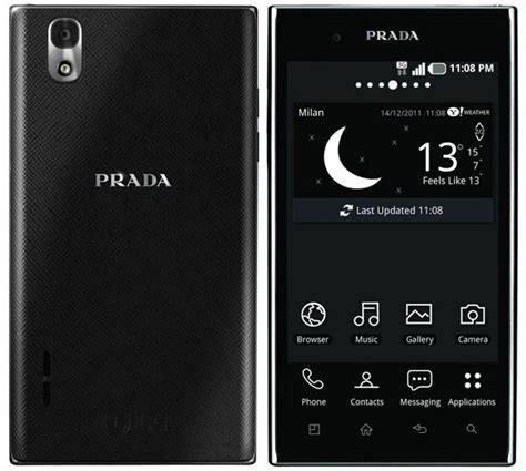 Prada Phone by Prada Phone By Lg 3 0 Officially Launched Ubergizmo