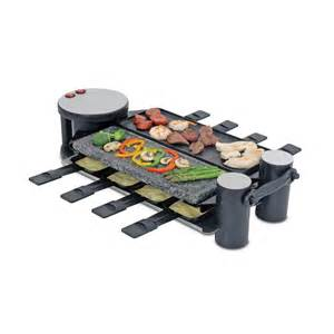 cuisinart raclette grill swissmar kf 77073 swivel raclette 8 person grill at