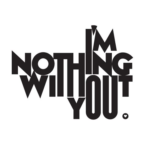 You Nothing c front i m nothing without you