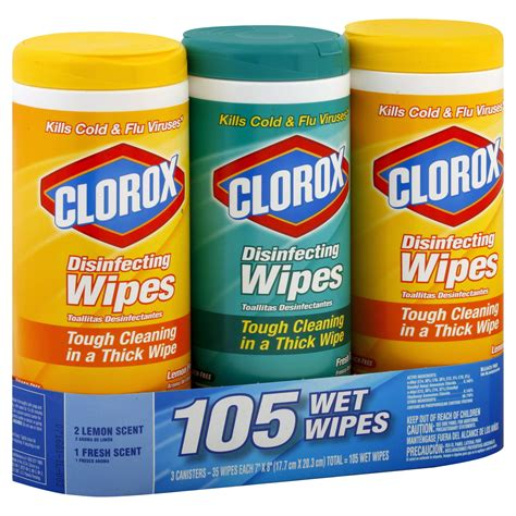 clorox wipes clorox disinfecting wipes 3 canisters shop your way shopping earn points on tools