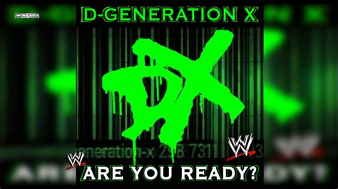 Ready X quot are you ready quot d generation x theme song ae