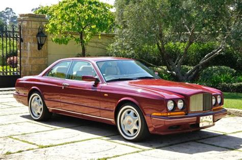 1993 bentley continental r auto restorationice