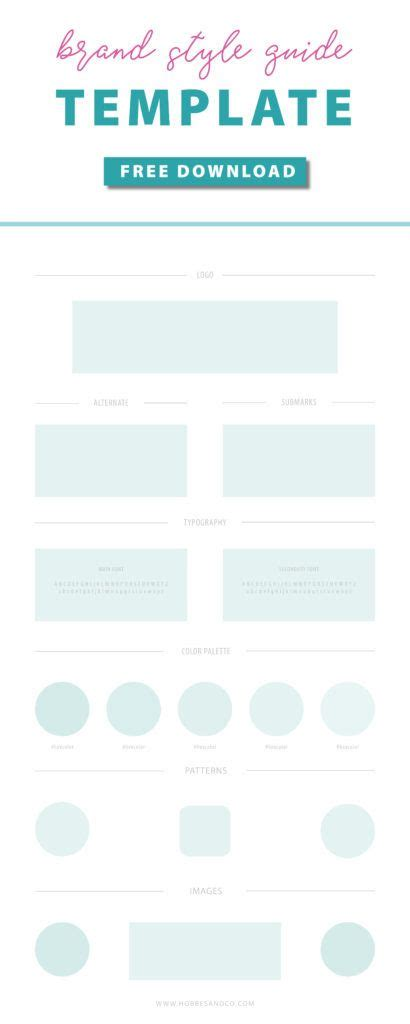 Illustrator Style Guide Template